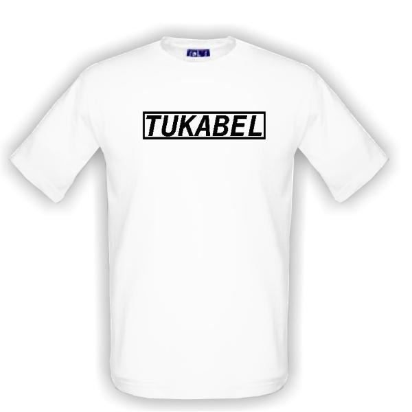 dec8de864e1a Tričko s potlačou TUKABEL originálne tričko